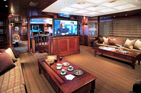 M/Y Passion Luxury Yacht Upper Salon